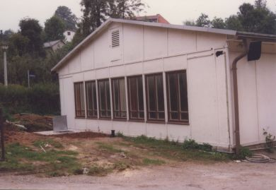 The old building before its demolition