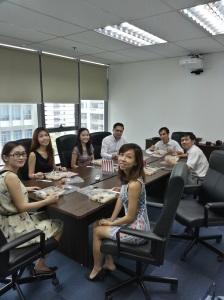 Day 1 - AVT SG Staff